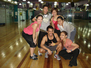 BODYJAM Training: after Day 1's exertions