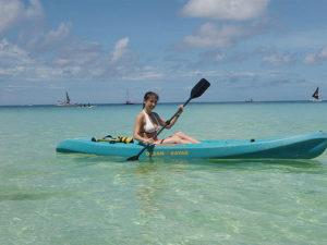 Kayaking courtesy of Scuba World