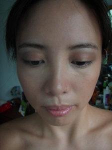 Ellana mineral foundation w/ Clinique eyeshadow