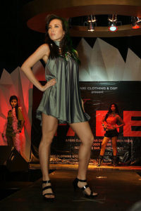 One Hot Fabe: Silver Dress