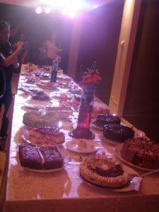 Parvati Dessert Soiree: the spread