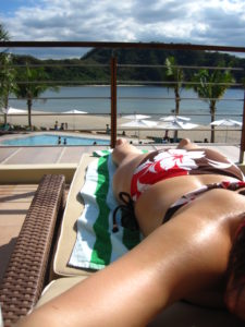 Hamilo Coast: Sunbathing