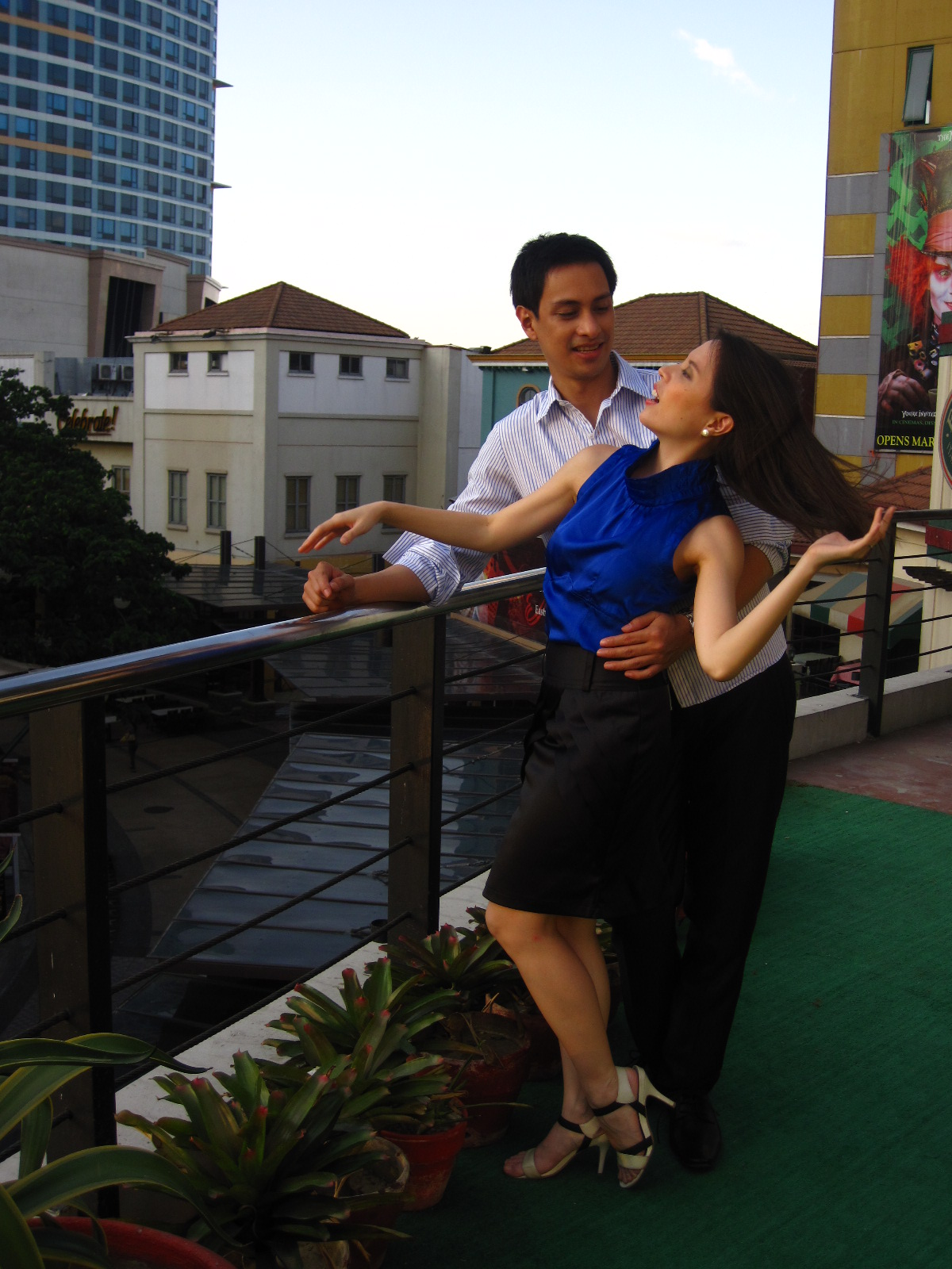 M&M Prenup: Eastwood Rooftop