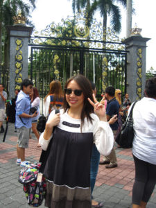 Malaysia: at the old King's Palace