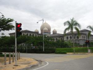 Malaysia: the Hall of Justice in Putrajaya