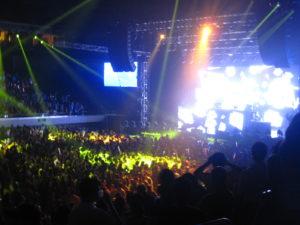David Guetta in Manila: Crowd