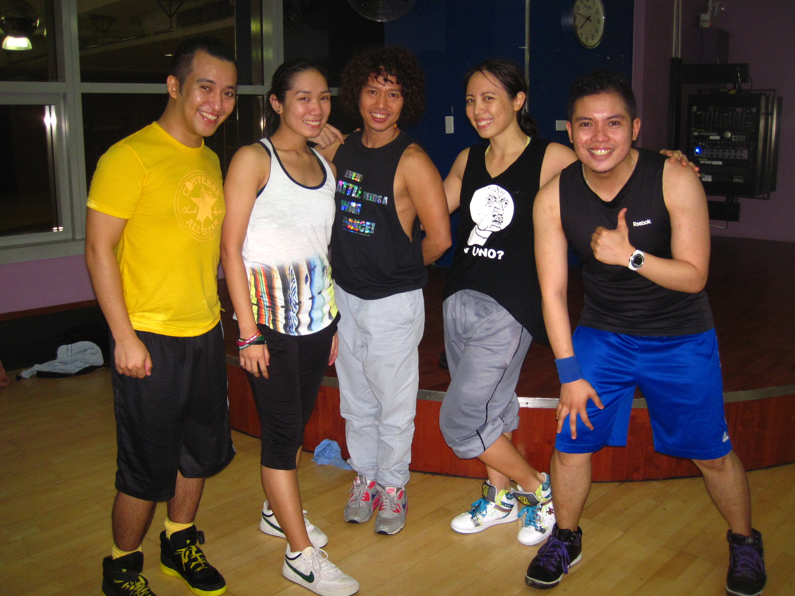 BODYJAM AIM1 batch w/ trainer Arnold Warren