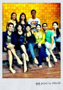 BODYBALANCE AIM1 batch w/ trainer Riyo Fukunaga