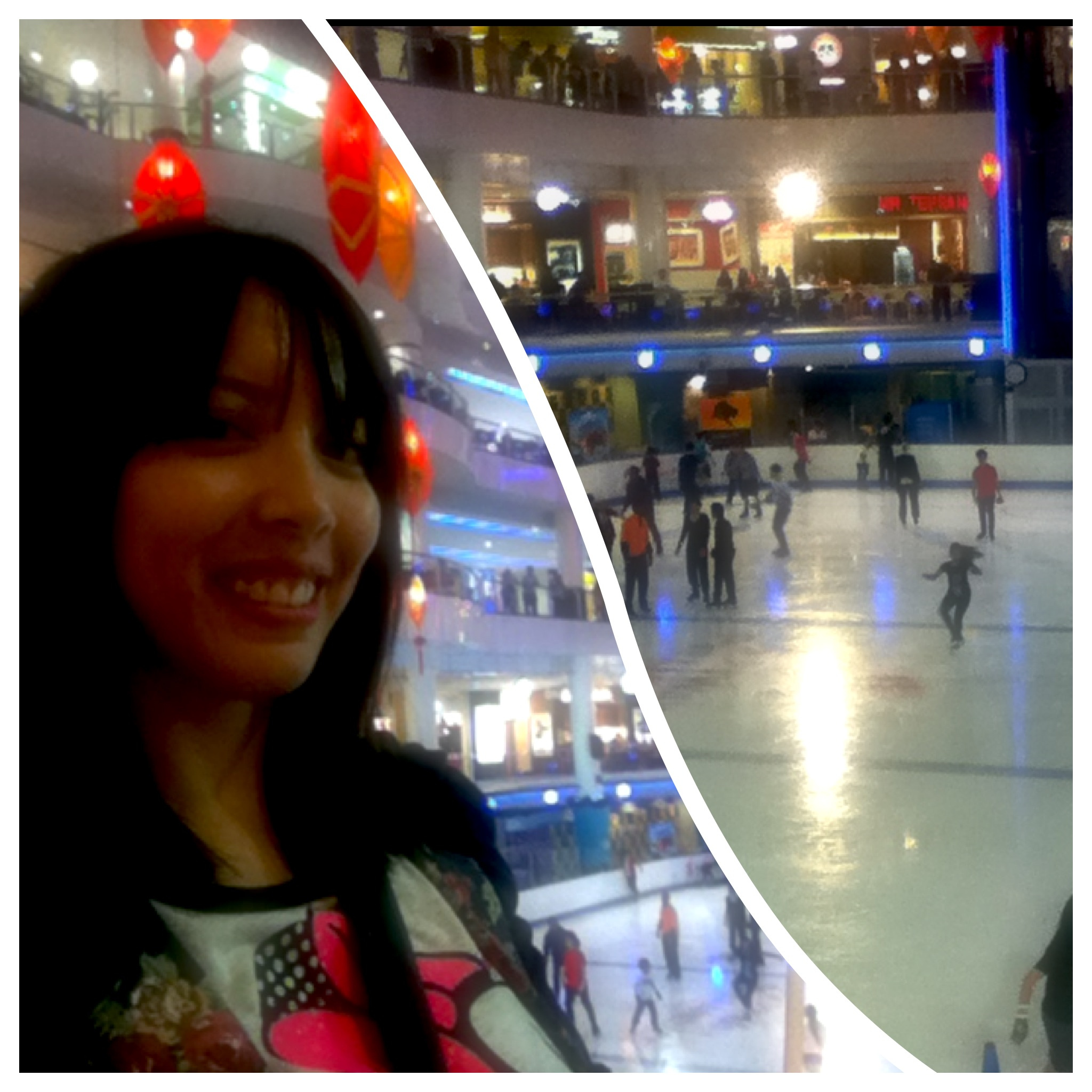 Sunway Pyramid's ice skating rink