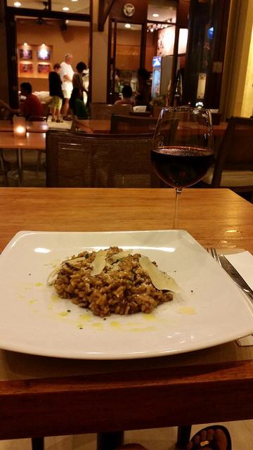 Aria Boracay mushroom risotto
