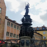the Fountain of the Virtues in Nuremberg