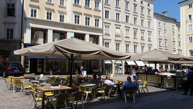 Salzburg is a very posh city