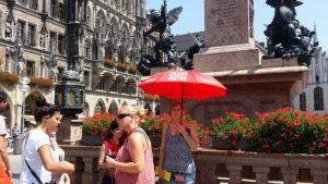 Sandeman's New Munich Free Walking Tour start
