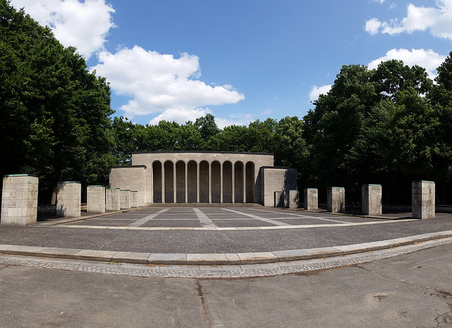 The Hall of Honor built during the Weimar Republic