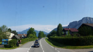 lovely drive back to Munich