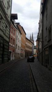 one-way street, Regensburg