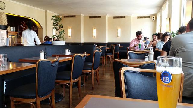 Cafe Glockenspiel interior