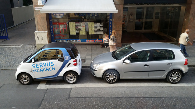 compact car in Munich