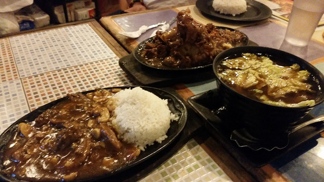 sizzling plates at Smoke Boracay