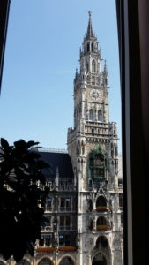 view from Cafe Glockenspiel