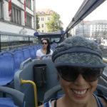Munich hop-on hop-off tour bus