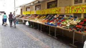 fruit market, Regensburg