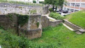 Roman ruins, Regensburg