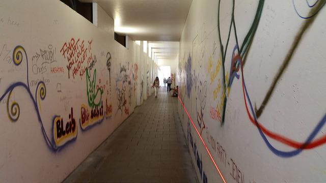 Munich sidewalk graffiti