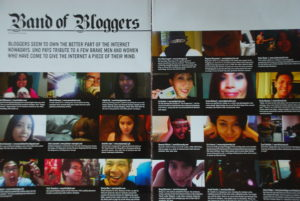 UNO Mag Oct. 2009: Band of Bloggers